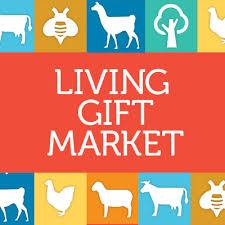 living gift market poster