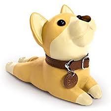 Cute Dog Door Stopper, Bulldog (khaki)