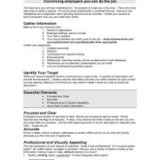 Resume Good Job Resume Format Resumes Free Sample Help Me Do For
