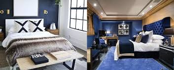 navy blue bedroom colors. Fine Navy Top 50 Best Navy Blue Bedroom Design Ideas Calming Wall Colors Inside Rooms  Idea 12 To A