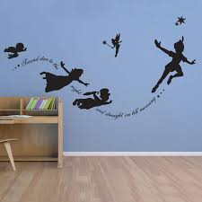 peter pan vinyl wall decal sticker