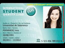 Now info - Study Internacional Isic Carnet Mandegar