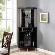 Image Design Ideas Home Source Corner Bar Unit Black Walmart Bar Furniture Bars amp Wine Racks Walmartcom