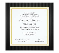 Formal Dinner Invitation Sample Amazing 48 Party Invitation Designs Examples PSD AI EPS Vector