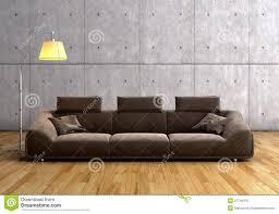 modern brown sofa. Brilliant Brown A Modern Brown Sofa And Lamp To Modern Brown Sofa