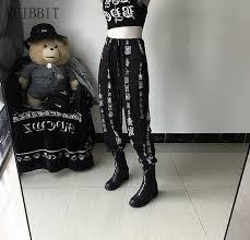 <b>2018 New Arrival Autumn</b> Streetwear Women loose Gothic harajuku ...