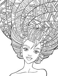 Small Picture 10 Crazy Hair Adult Coloring Pages Page 9 of 12 Adult coloring