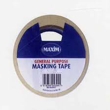 Decorators Masking Tape General Purpose Masking Tape 60mm MA60 Decorators Tools 38