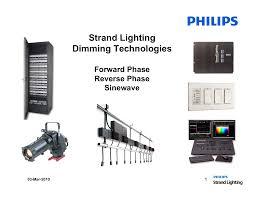 Strand Lighting Strand Lighting Dimming Technologies Manualzz Com