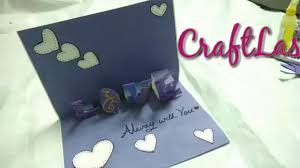 Idea Of Making Cards Part  45 Valentineu0027s Day Popup Love Card Making Ideas Youtube