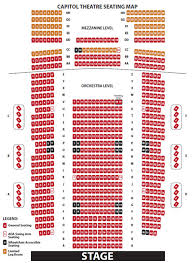 capitol theater seating chart