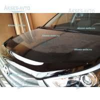 <b>Дефлекторы окон</b> и капота для Хендай Крета (Hyundai Creta) ( с ...