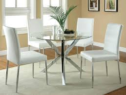 full size of metal dining table and chairs with glass top base in chrome finish outdoor