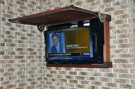 outside tv cabinet great fascinating outside enclosure outdoor wall cabinet weatherproof tv stands usa