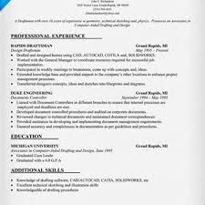 Drafter Resume Free Sample Drafting Resume Examples Examples Of