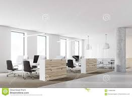 wooden office. Wooden And White Loft Office Corner