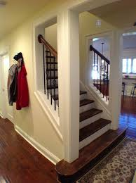 Open basement stairs Opening Up Cumming Basement Traditional Staircase Atlanta By Yogadarshaninfo 41 Basement Staircases Railing Ideas For Basement Stairs Houses