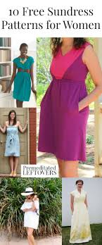 Sundress Patterns Fascinating 48 Free Sundress Patterns For Women Sewing Patterns Tutorials