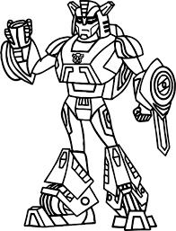 Small Picture Coloring Pages Boys Fire Transformers Coloring Page