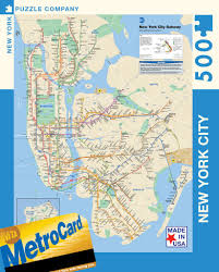 mta subway map – new york puzzle company