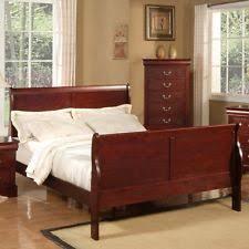 Queen Sleigh Bed | eBay