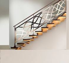 ... Stairs, Stunning Stairs Railing Designs Staircase Railing Kits And  Crisp White Painted Wall And Metal ...