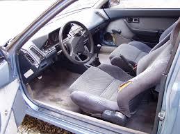 acura integra interior backseat. acura integra 1987 6 interior backseat a