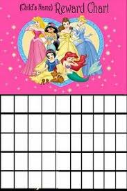 Disney Princess Behavior Chart Princess Reward Chart Printable I Though Of Morgan