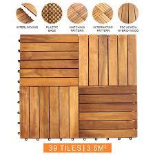 wooden decking tiles