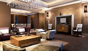 awesome wall decorations for living rooms design with granite gorgeous brown opulence room decorated floating lamps ideas awesome family room lighting ideas