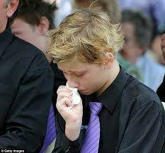 Australia flood victim Jordan Rice funeral: Blake mourns brother who saved  him | Daily Mail Online