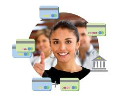 present a choice of payment options at point of service
