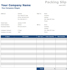 packing list sample form free packing slip templates invoiceberry