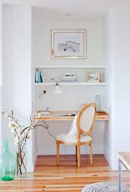 alcove office. small office space or work station alcove