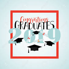Congratulations Poster Congratulations Graduates 2019 Poster Template With Lettering