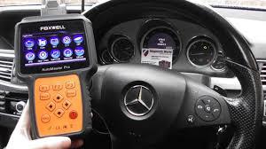 Mercedes C Class Engine Diagnostic Warning Light Mercedes Check Engine Light Diagnose Reset Nt644 W212 P0103 P0113