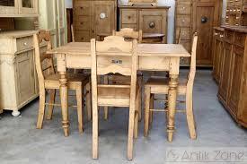 Esstisch Tisch Massivholz Fichte Bauernmöbel Antik Zoneat