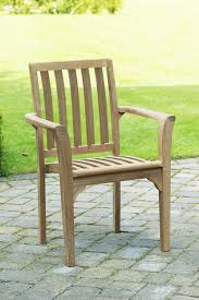 teak outdoor dining chairs. Teak Outdoor Stacking Patio Dining Chairs