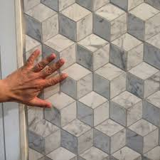 3D marble #tile decor that's soft to the touch: Marmi Bianchi by @Ceramche  di Noce - Tavarnelle Val di pesa Coem #design #interiors | Pinterest |  Marble ...
