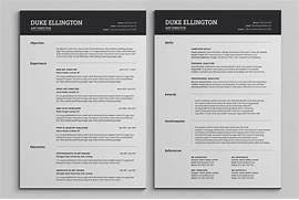 Resume example two page resume example free sample 2 for Resume two pages .