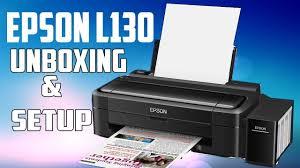 Epson L130 Single Function Colour Printer Unboxing Setup First Epson L130 Printer Price In Sri Lanka L