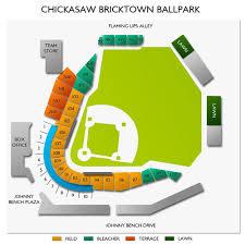 Chickasaw Bricktown Ballpark 2019 Seating Chart
