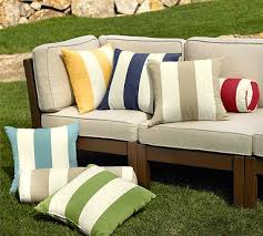 Soften up your furniture with designable outdoor cushions