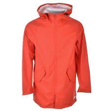 converse jacket. converse rubber fishtail parka jacket red