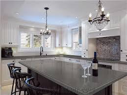 stone kitchen countertops. Contemporary Stone Pure GreyDark Grey Quartz Kitchen Countertop Smoke Stone  Slabs Engineered And Countertops C
