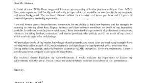 Real Estateonal Assistant Cover Letter Sample For Administrative Job