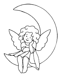 Small Picture 137 best Coloring Angel Fairy images on Pinterest Draw