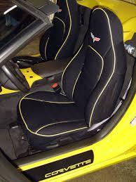 chevrolet corvette full piping seat