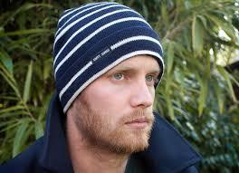 Saint James Stripey Knit Hat in Navy - stripey_knit_hat_navy_cream_saint_james_label