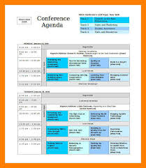 7 Event Agenda Template Word Business Opportunity Program